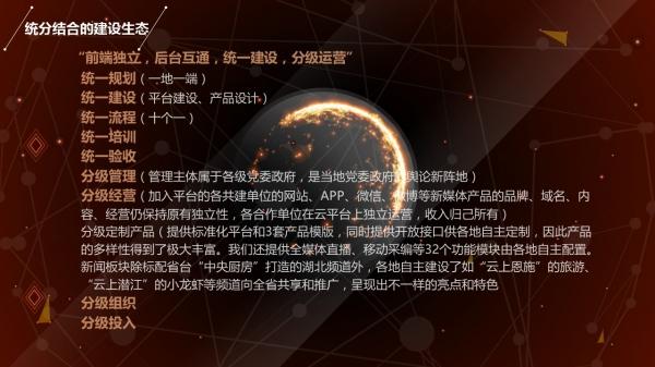 副台长张建红的演讲PPT,她的演讲题目为《平台再造,开创区域融合